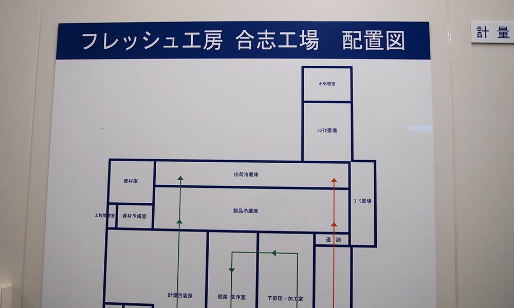 配置図の写真
