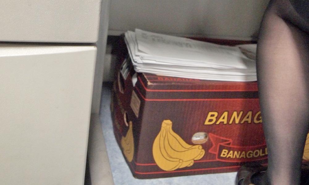 バナナの箱