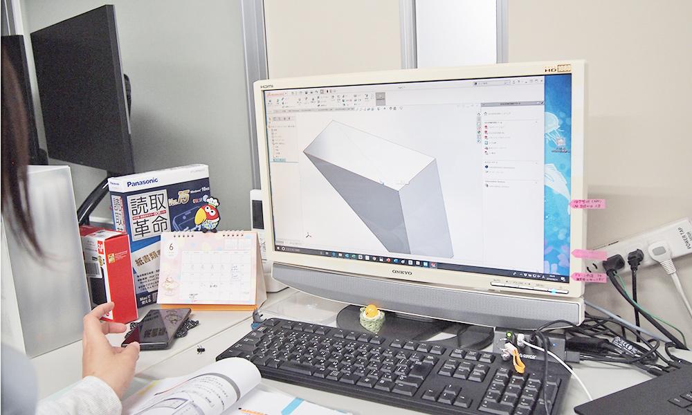 CADソフト操作の様子2