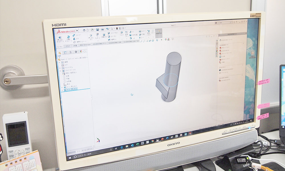 CADソフト操作の様子3