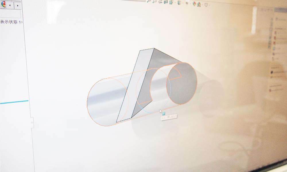 CADソフト操作の様子4